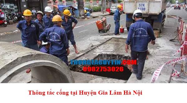 Thông Tắc Cống Tại Huyện Gia Lâm Hà Nội Uy Tín Giá Rẻ 2