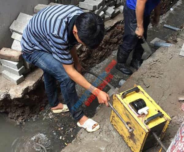 Thông tắc cống tại Thanh Xuân uy tín giá rẻ