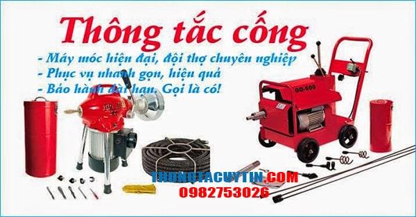 Cách chọn dịch vụ thông tắc cống và hút bể phốt uy tín tại Hà Nội