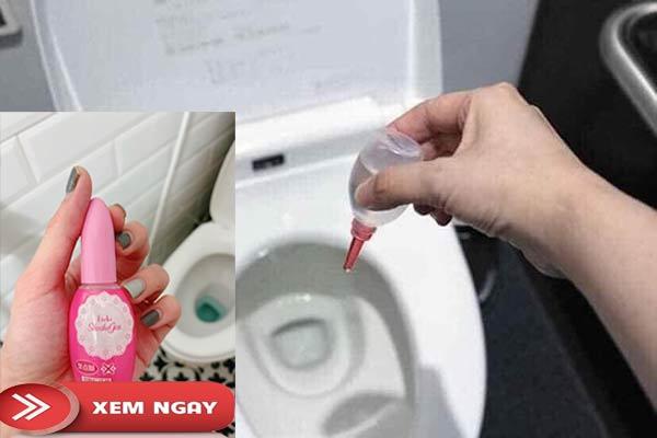 7. Khử mùi hôi nhà vệ sinh bằng kobayashi shoshugen